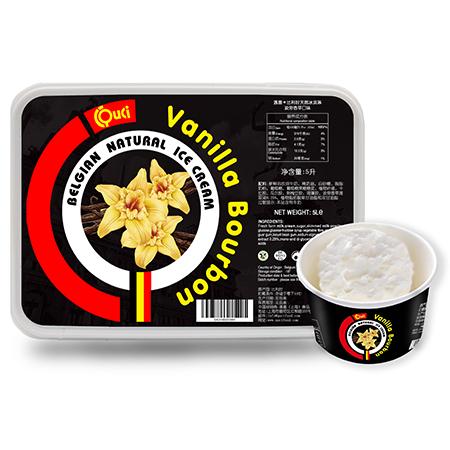 QUCI Crème Glacée Naturelle Belge Vanille Bourbon