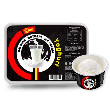 QUCI Crème Glacée Naturelle Belge Yoghourt