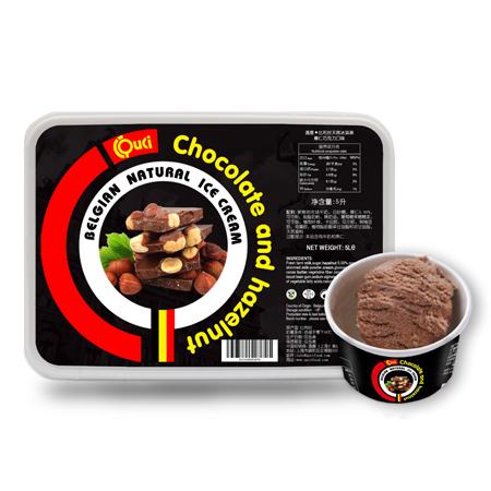 QUCI Crème Glacée Naturelle Belge Café